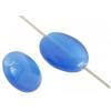 Cat's Eye Bead 10x14mm Oval Blue